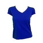 Ladies V-Neck Baby Tees